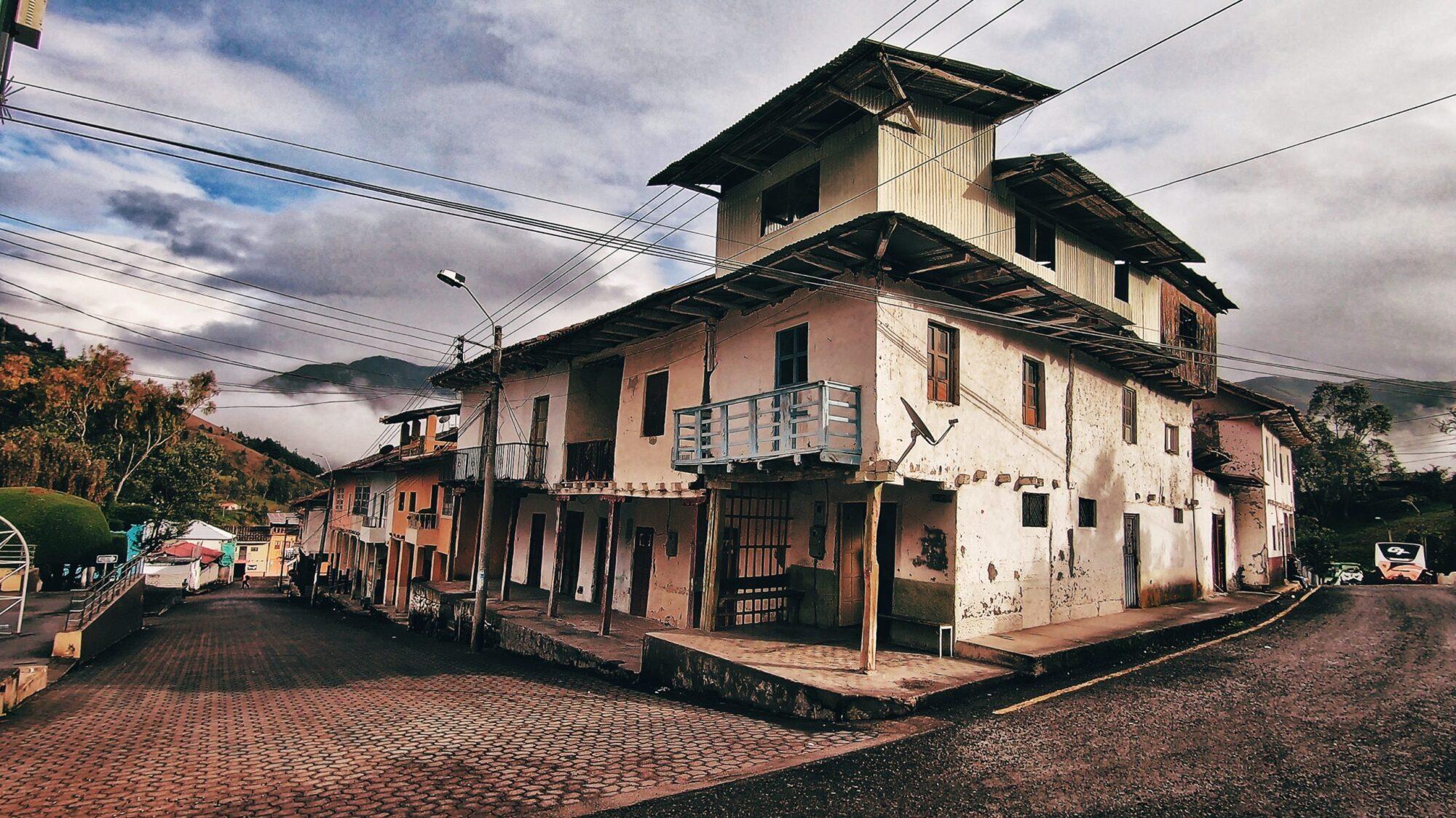 Centro de Guachapala - El Austo ecutoriano