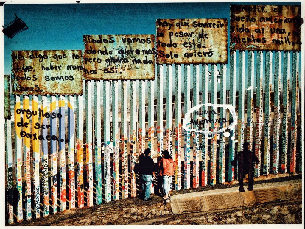 I say there should be no walls. We are all free. We [used to] go where we want, but now nothing is like that. You have to smile despite all this. I just want to fulfill the American dream. There is only one life, but a thousand attempts. Proud to be Oaxaca.