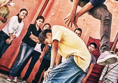 """When they migrate, children and adolescents are forced to leave school, family, friends, pets, games, and favorite places, familiar festivities or traditions, as well as favorite foods (Ana Luz Minera Castillo. """"Hermanos en el Camino"""" shelter, Ixtepec City, Oaxaca, Mexico.)"""